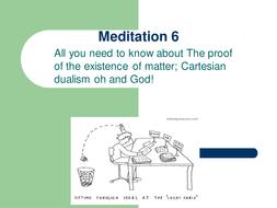 descartes meditation 5 summary