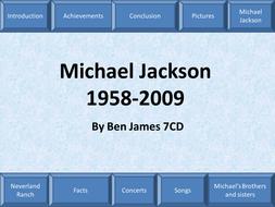 Michael Jackson- The Presentation