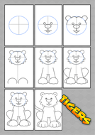 Drawing a tiger step by step.pdf