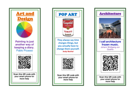 Art Revision Bookmarks