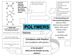 polymers lesson with competitive worksheet by rcmcauley teaching resources. Black Bedroom Furniture Sets. Home Design Ideas
