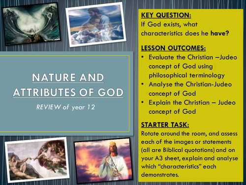 the attributes of the christian god essay Attributes of god essay an attribute of god is something or anything that the bible says it's true about god or that which the bible shows is true about god.