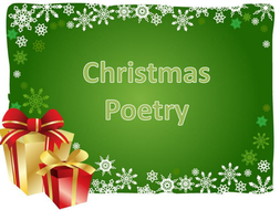 christmas acrostic poem by studenth teaching resources tes