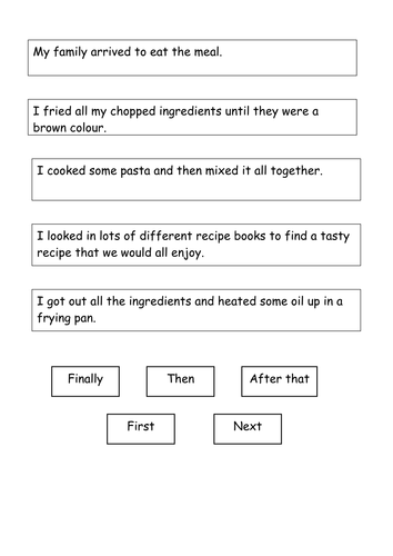 Recount worksheets Year 2 by StefanieTuesday - Teaching Resources ...