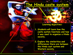 Hinduism - Caste system KS3 2019.pptx