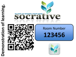 Socrative - PPT and QR Code