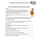 Flintstones style rocks home learning activity