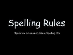 spelling rule mini posters worksheets by jcwyatt teaching resources. Black Bedroom Furniture Sets. Home Design Ideas