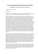 Diary Entry WW2