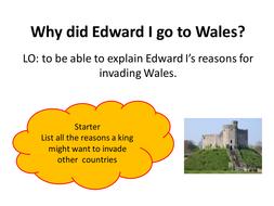 Edward I and wales