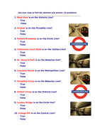 Using a map of the London Underground.doc