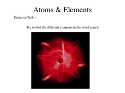 atomselementsperiodic table ppt - Periodic Table Lesson Ppt