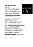Wise_Guys_Nur_f_r_dich[1] wise guys.doc