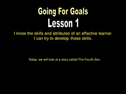 Going for Goals 13.ppt
