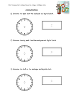 time worksheet new 308 time worksheet nearest 5 minutes. Black Bedroom Furniture Sets. Home Design Ideas