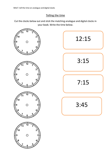 Time by amy_louise1989 - Teaching Resources - TES