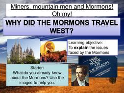 Mormons - Joseph Smith and development