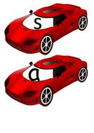 Phonics Initial Sounds - Car Theme