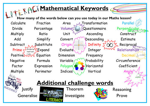 Algebra Keywords Important Vocabulary Signposts For Word Problems – Keywords in Math Word Problems Worksheet