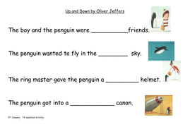 Up and Down by Oliver Jeffers  activity.doc