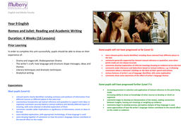 Shakespeare Romeo And Juliet  Analytical Writing By A Chancer  Romeo And Juliet Sowdoc