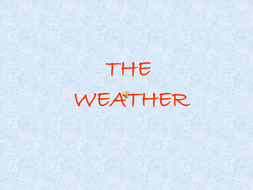 weather powerpoint by roguma teaching resources tes
