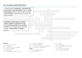 weekend dernier crossword extra help.docx