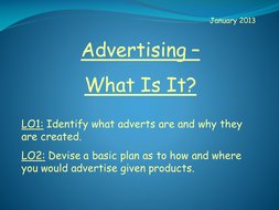 Advertising - What Is It?
