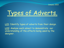 Types of Adverts