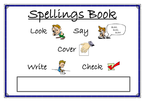 Spelling Book Cover Template ~ Book report template non fiction printable