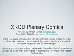 XKCD Plenarys & Homeworks