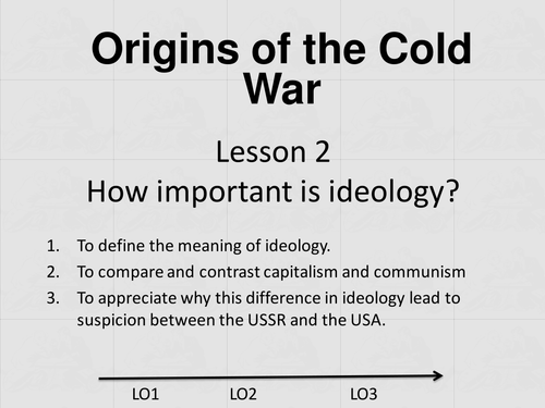 Cold War Communism vs Capitalism by freyaella Teaching – Origins of the Cold War Worksheet