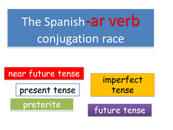 Spanish ar verb conjugation race.pptx