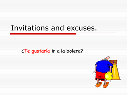 mira 2 spanish invitations and excuses by maryjane1969 teaching