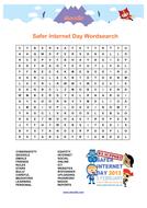 Internet Safety Wordsearch - Skooville