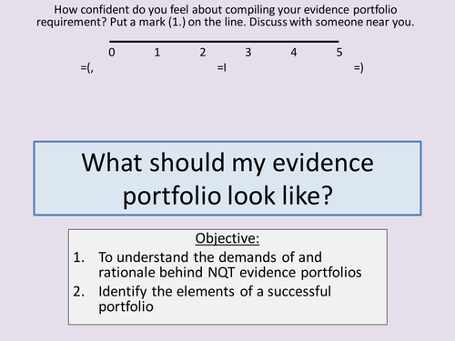 Nqt evidence portfolio help by ccking teaching resources tes altavistaventures Images