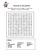 Looking at the Market word search.doc