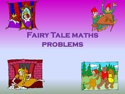 Fairy tale maths problems