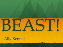 Beast. Ally Kennen. Chapter 10 Activities.
