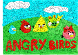 Angry Bird Colors - Coloring Home | 190x269