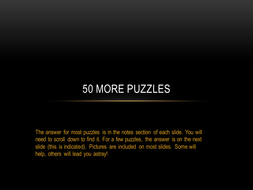 50 More Puzzles