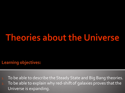 Theories about the universe.pptx