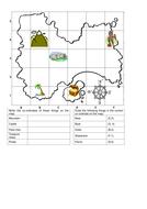 Co-ordinates Map