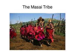 Masai Tribe Powerpoint