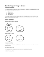 Genetics Project ANSWERS.docx