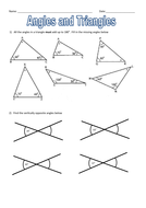 Size of angles and type of triangle match up