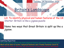 Britains landscapes physical and human features by victoria1987 lesson 2 britians landscapepptx human and physical features of ukcx publicscrutiny Choice Image