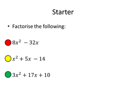Algebraic Fractions By Dannytheref Teaching Resources Tes