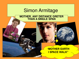 GCSE POETRY (OCR) SIMON ARMITAGE: MOTHER ANY...