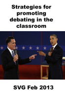 Debating strategies for the classroom